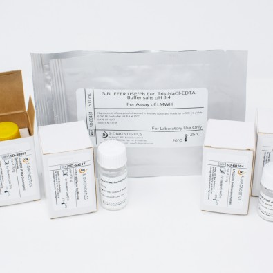 5 TEST EP-LMWH Anti-Xa Heparin QC Kit