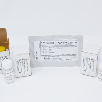 5 TEST EP-UFH Anti-IIa Heparin QC Kit