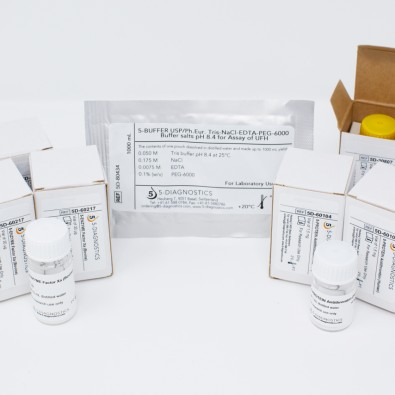 5 TEST EP-UFH Anti-Xa Heparin QC Kit
