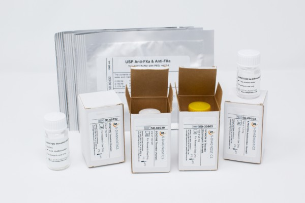 5 TEST USP-LMWH Anti-IIa Heparin QC Kit