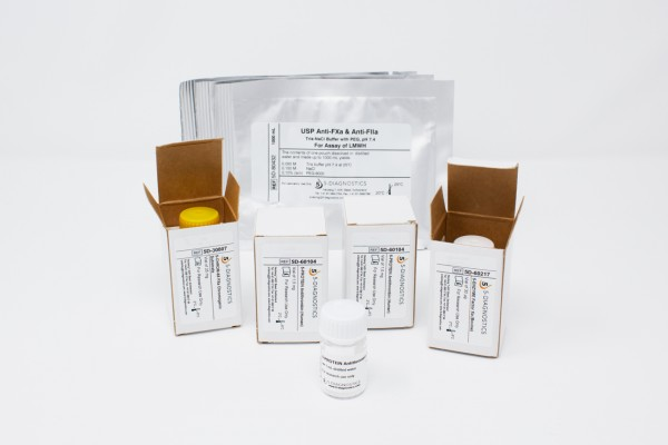 5 TEST USP-LMWH Anti-Xa Heparin QC Kit