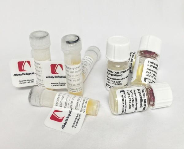 Plasminogen Deficient Plasma, 1ml vial – RUO (Special Terms Apply*)