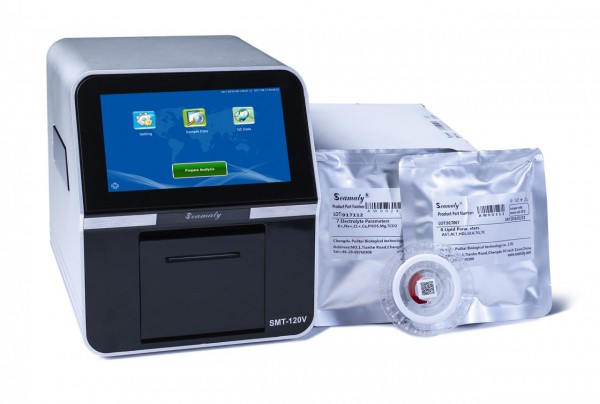 SMT-120V Fully Automated Veterinary Biochemistry Analyser for Animal Health Diagnosis